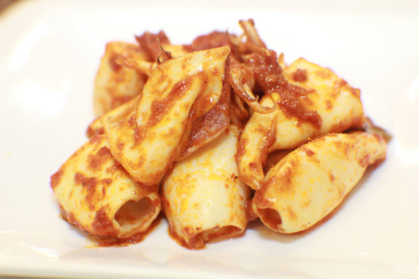 Squid-Sambal-Assam